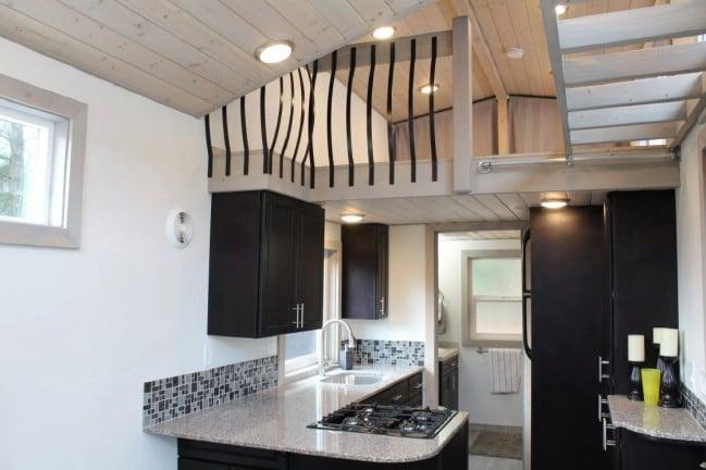 Tiny Houses Of Washington Build Regal 303sf King S Loft