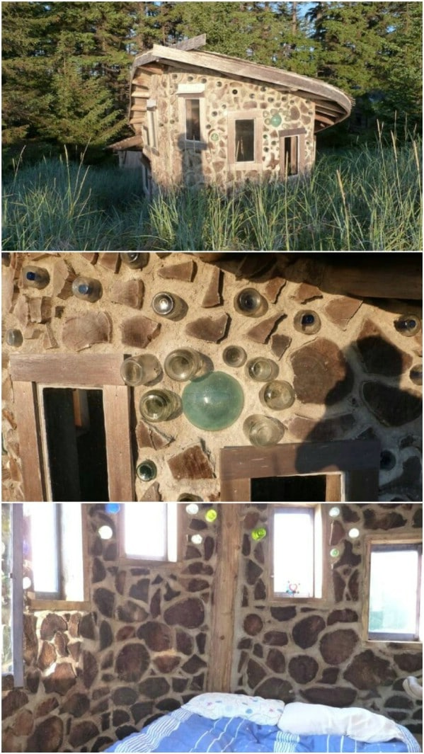 The Stackwall Queen's Cordwood House