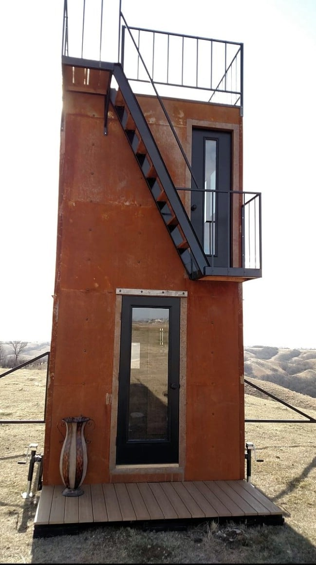 The Tilting Tower Tiny House Tour