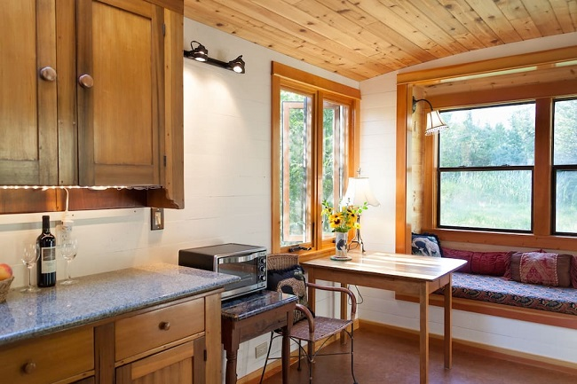 "Try Out ""Tiny Living"" in the 200sf Garden Caravan in Idaho"