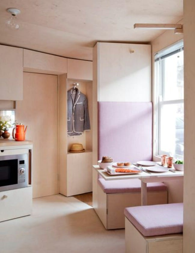 Innovative Designers Address London's Affordable Housing Issue with 13  Square Metre House