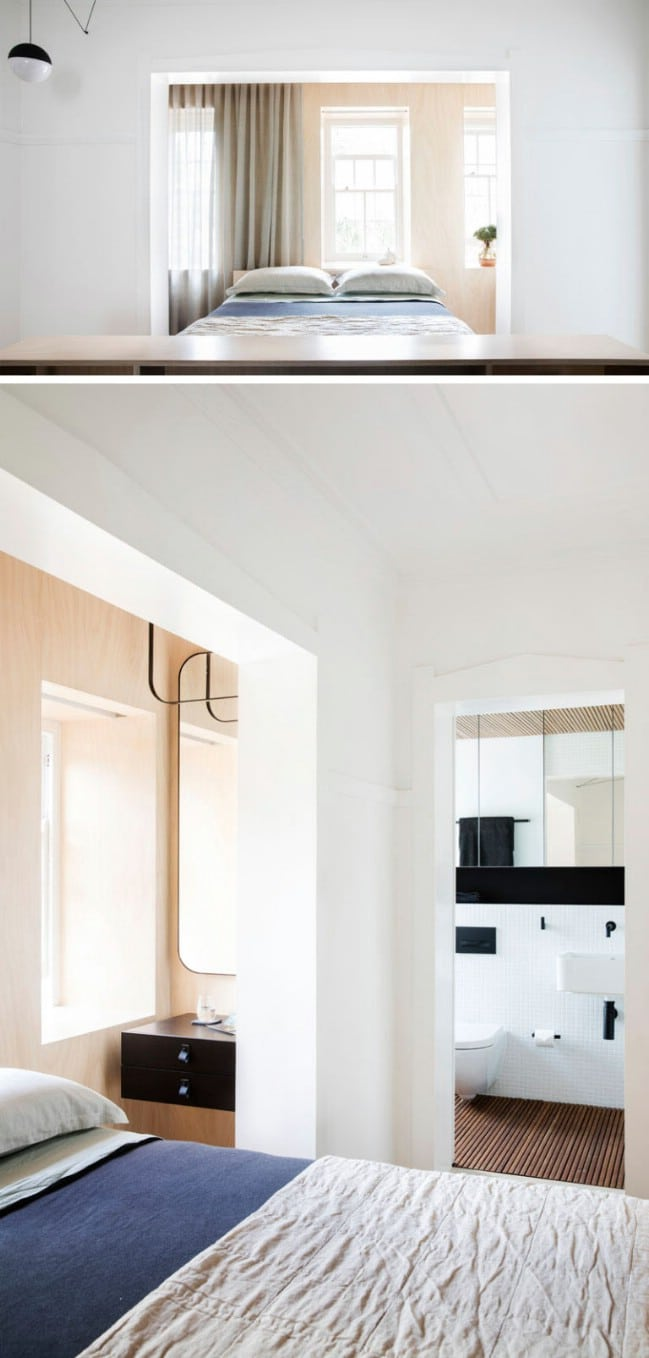 The Bathroom Has Beautiful Timber Slats On Both The Floor And Ceiling Which  Warm Up The Room And Add Texture. The Walls Are Lined With White Tiles And A  ...