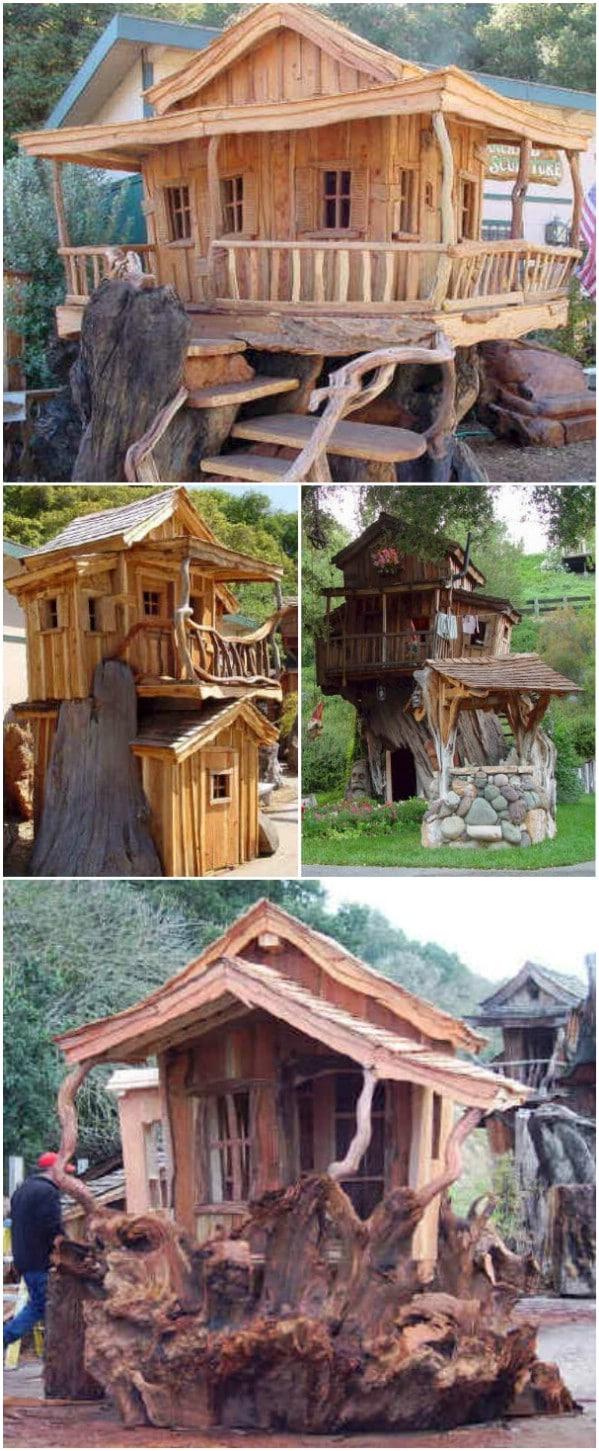 Steve Blanchard's Wood Sculptures