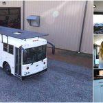 Techy Couple Convert School Bus into Modern Tiny House and Escape the 9-5