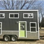 "The ""Chick Shack Lime Green"" Tiny House by Mini Mansions Tiny Homes Uses Pantone's Color of the Year"