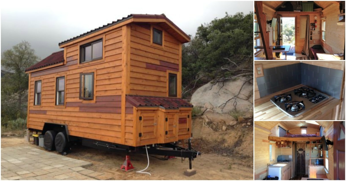 San Diego Man Builds Tiny House After Watching Youtube