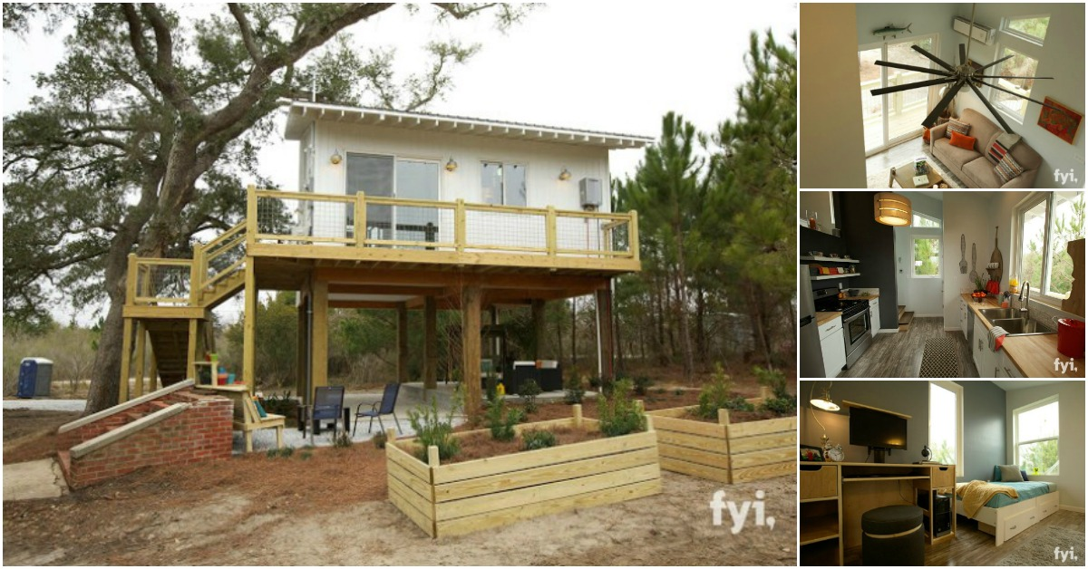 mississippi family returns home to rebuild after hurricane katrina tiny houses. Black Bedroom Furniture Sets. Home Design Ideas