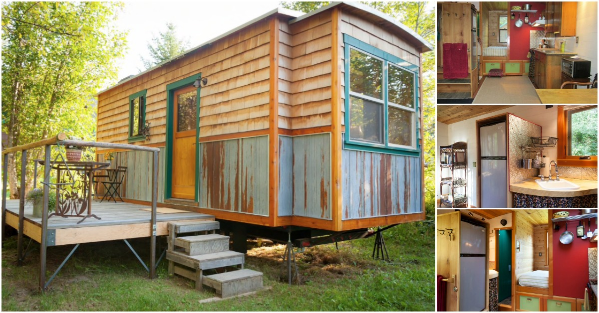Try Out Tiny Living In The 200sf Garden Caravan In Idaho