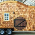Tiny 160sf Hobbit House on Wheels by Incredible Tiny Homes