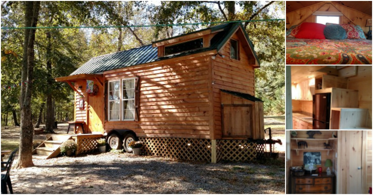 200 Square Foot Tiny House On Wheels By Hummingbird