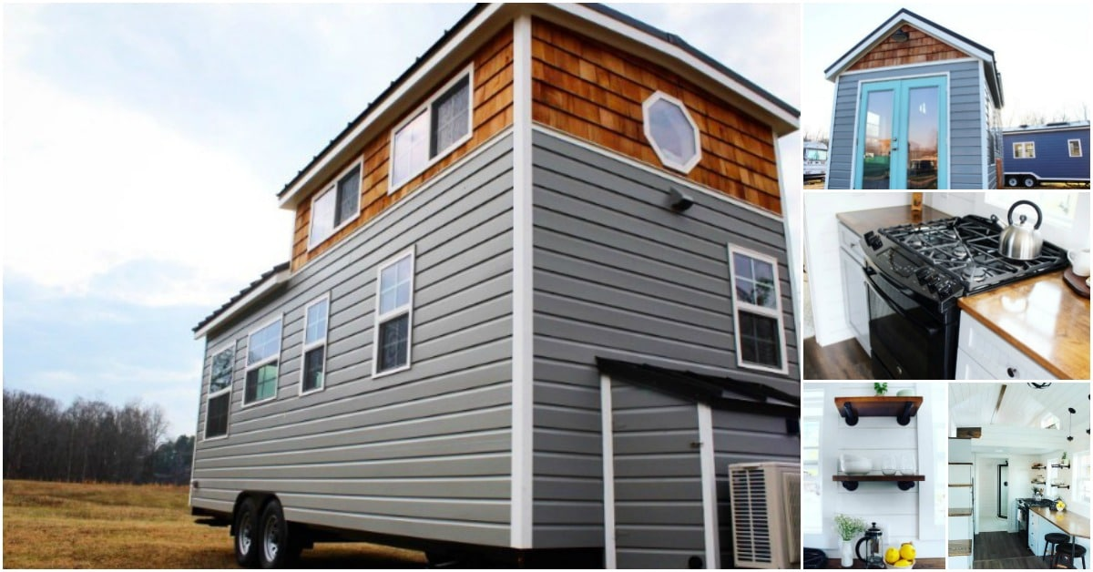 Gorgeous 285 Square Foot Mustard Seed Tiny House For Sale