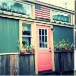 Americana Perfection Achieved in 128sf Tiny House by Incredible Tiny Homes in Tennessee