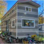 A Couple Makes the Most of Space in Their 28-Foot-Long Tiny House by Rocky Mountain Tiny Houses