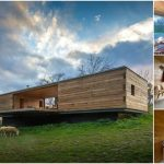 Let the Outside Come in While at This Modern Wooden Tiny House Retreat in Spain