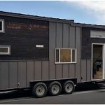 """Alpine Tiny Homes Release """"Tiny Giant"""" Model with Charred Siding and Double Lofts"""