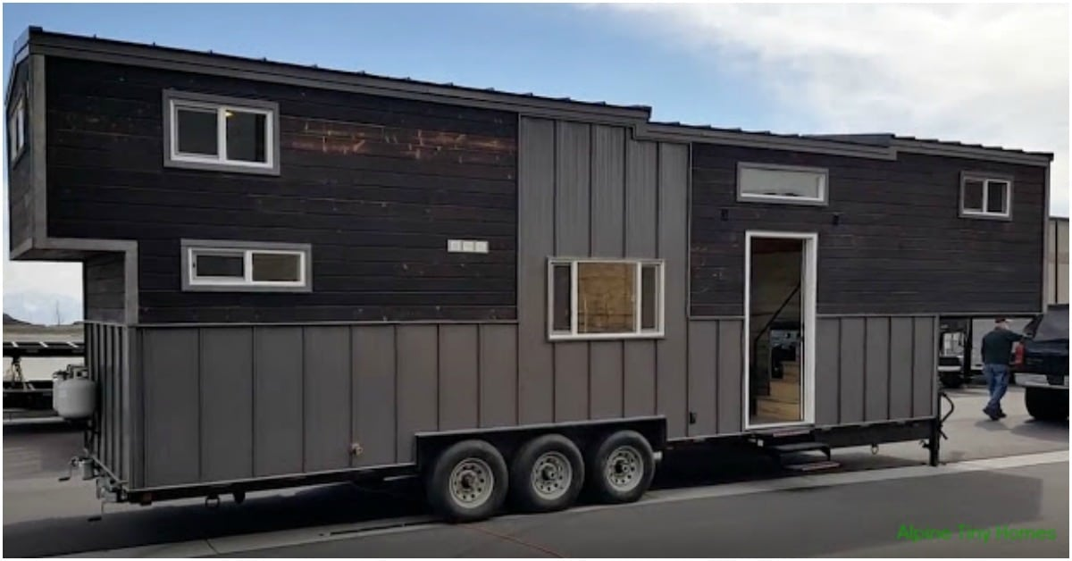 Alpine Tiny Homes Release Tiny Giant Model With Charred