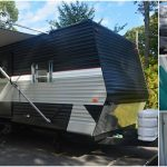 Tiny Hamptons Homes Remodels Travel Trailer into Luxurious Watermill House on Wheels