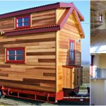French Builder Designs 150sf Cabin-Style Tiny House