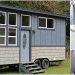 """Tiny Houses of Washington Build Regal 303sf """"King's Loft"""" Tiny House"""