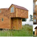 Off-Grid 333sf Tiny House Looks Like It Leapt Off the Pages of a Storybook!