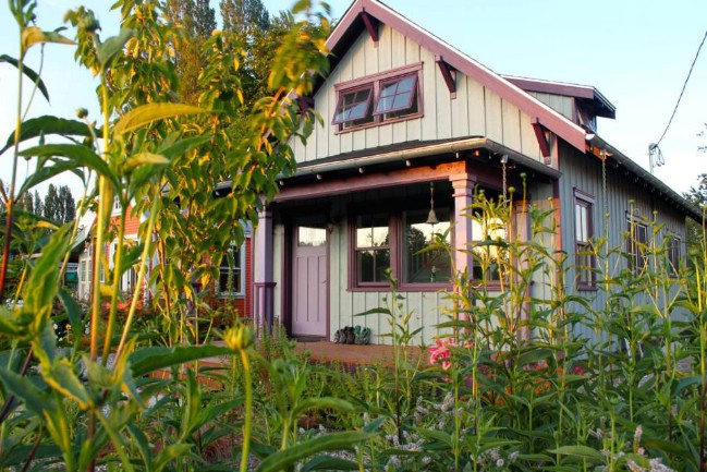 The Beekeeper's Bungalow by The Small House Catalog: Tiny House Perfection