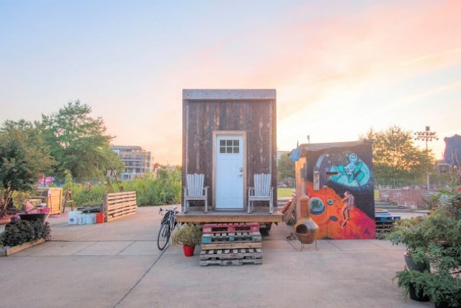 Jay and the Matchbox Tiny House, a Self-Sustaining Home in DC