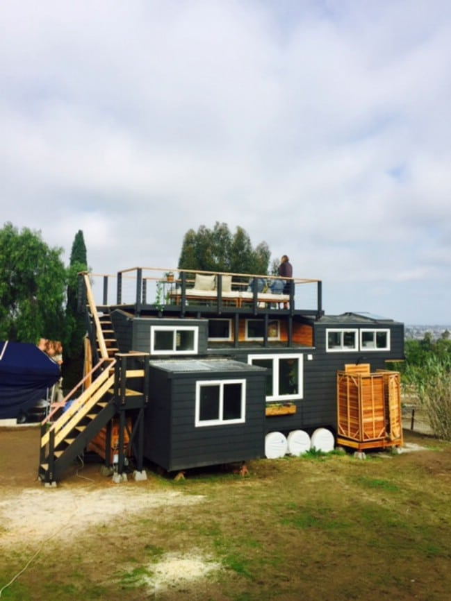 california couple design and build their own tiny house and now save