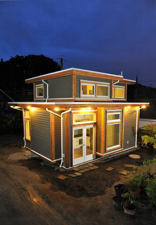 Vancouver Couple Build 500 Square Foot Tiny House With A
