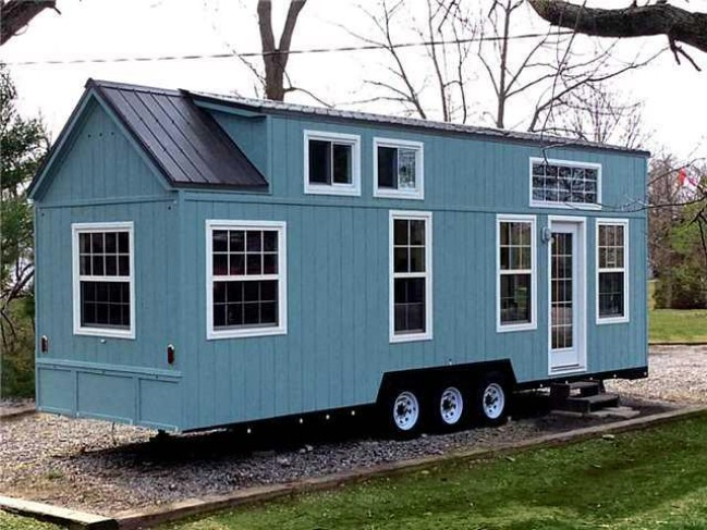 Luxurious And Ious Tiny House On Wheels For 89 500