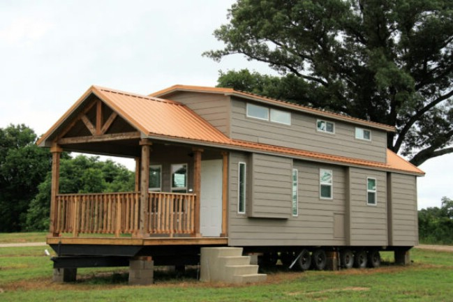 399 square foot tiny house at vintage grace community in yantis texas