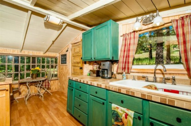 Own this 691 Square Foot Tiny House in Mt. Laguna Cleveland National Forest