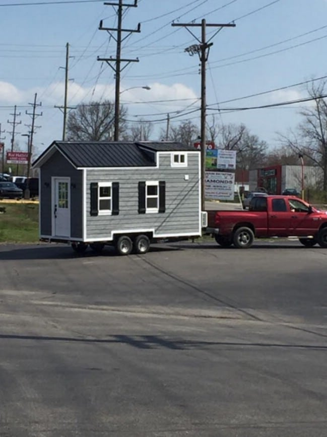 200 Square Foot Brookside Tiny House by Blue Elk