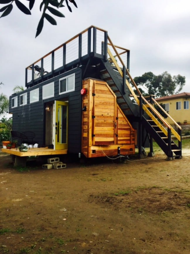 California Couple Design and Build Their Own Tiny House