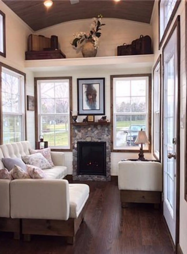 Luxurious and spacious tiny house on wheels for sale for for 2 level tiny house
