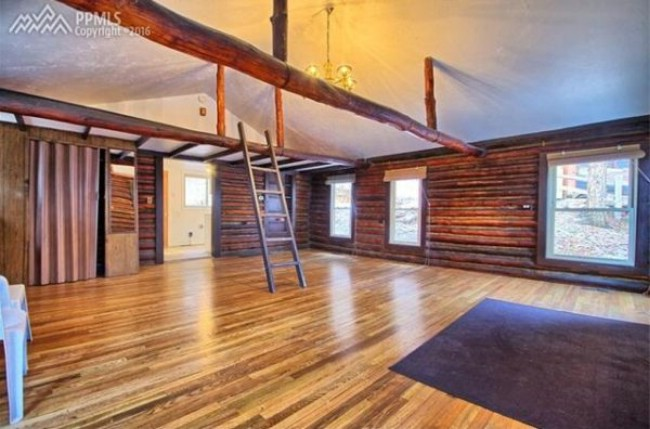 575 Square Foot Tiny Log House Sells for $140,000 in Colorado