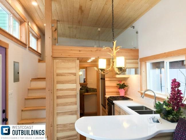 Skookum Tiny House by Westcoast Outbuildings of Canada