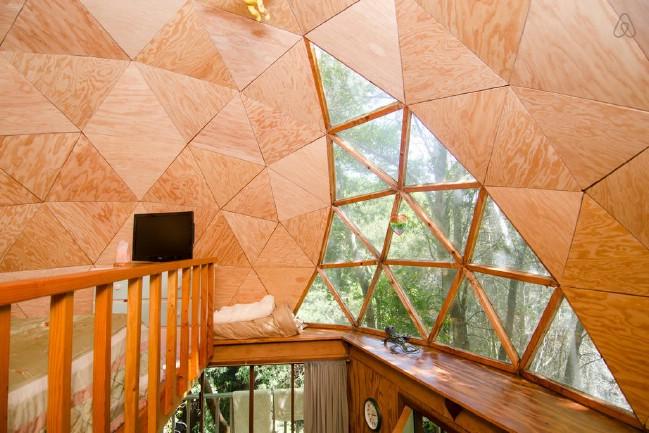 Mushroom Dome Tiny House in Aptos