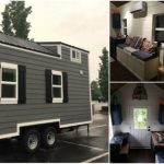 200 Square Foot Brookside Tiny House by Blue Elk for Under $50,000