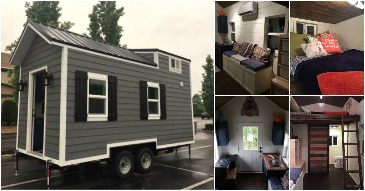 200 Square Foot Brookside Tiny House By Blue Elk For Under