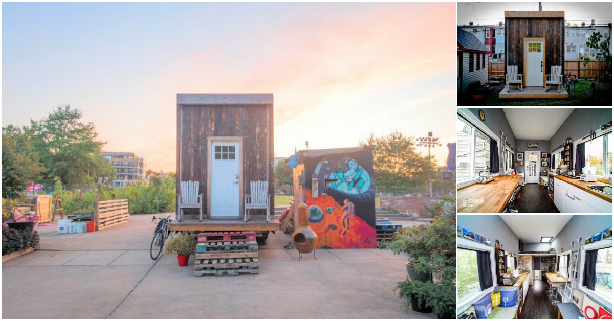 Jay and the Matchbox Tiny House, a Self-Sustaining Home in DC - Tiny Houses