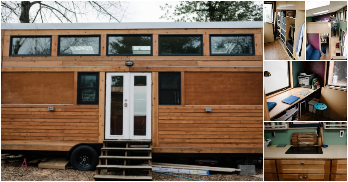 Couple Designs 229 Square Foot Tiny For Two House In