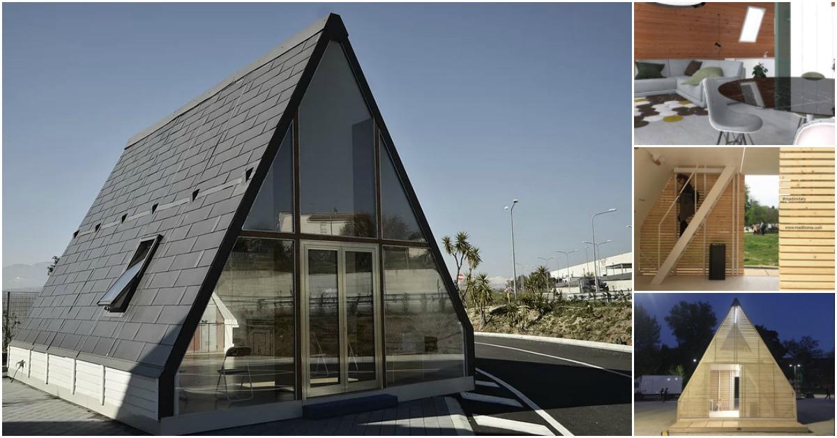 Tiny Home Designs: Italian Foldable Tiny House Gives Alternative To Living On