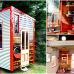 Lil Red Tiny House with Only 90 Square Feet is For Sale for $18,000