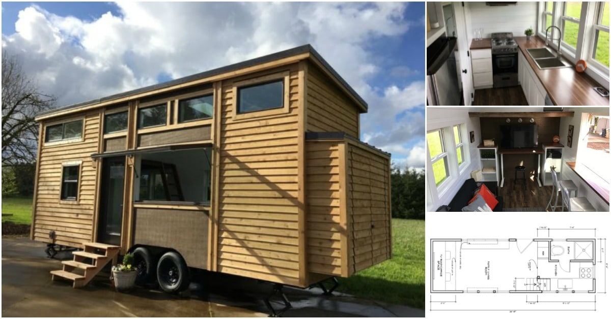 Covo tiny homes releases smart tiny house model the mio for Smarter small homes