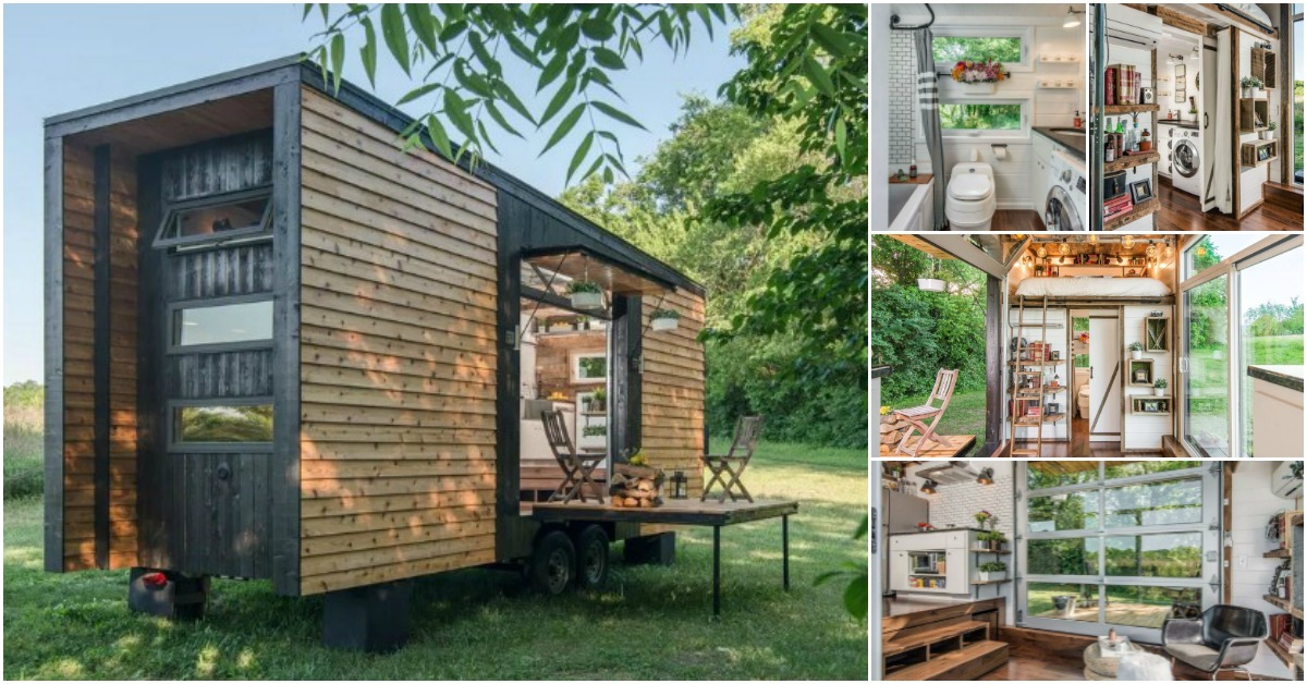 Fully Loaded 240 Square Foot Tiny House By New Frontier