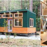 """The 365 Square Foot """"Skookum"""" Tiny House by Westcoast Outbuildings of Canada"""