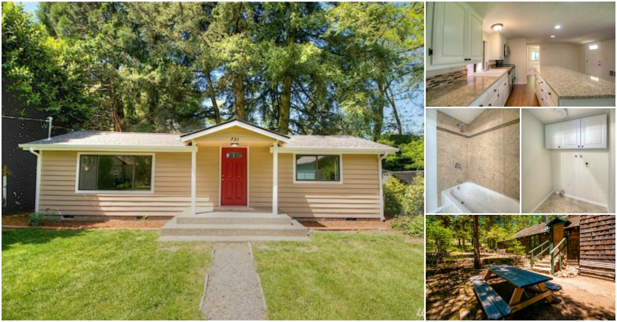Charming Tiny House For Sale In Olympia Washington For