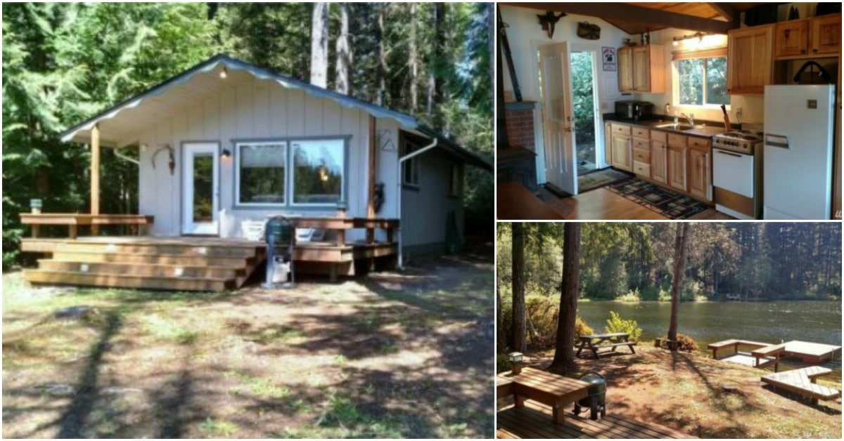 Buy This 480 Square Foot Tiny House On The Water In Tahuya