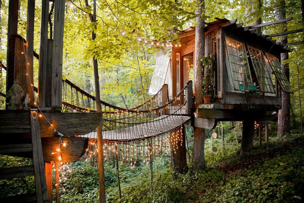 "Stay in a Tiny House in the Trees in Airbnb's #1 ""Most Wished-For Listing Worldwide!"""