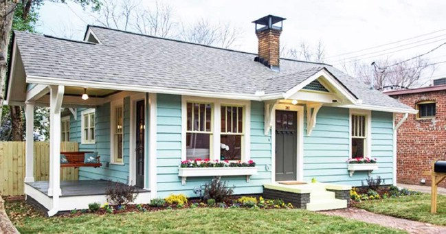 Atlanta Designer Gives Tiny House New Life Living Color on kitchen designer